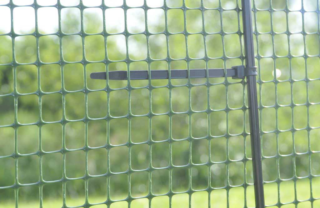 One Step Fence with zip tie